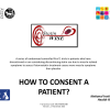 How to consent a patient