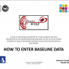 How to enter baseline data