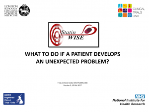 what to do if patient develops an unexpected problem v2