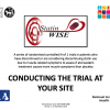 Conducting the trial at your site