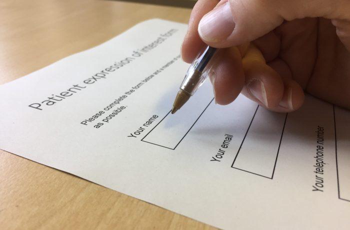 Patient Informed Consent Form – Optional Genetic Study (Welsh)