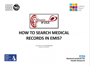 How to search medical records in Emis v2